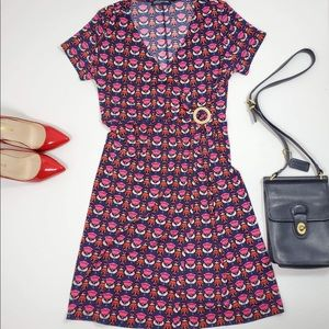 Jones New York | Black Pink Floral Dress
